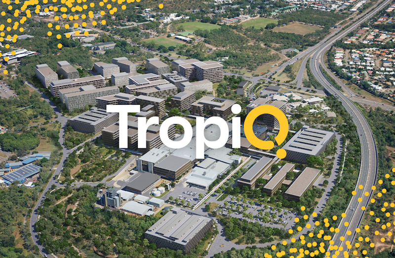 ▲ Hoyne recently created the brand for TropiQ, the Townsville Health and Knowledge Precinct, a world leading destination for tropical health.