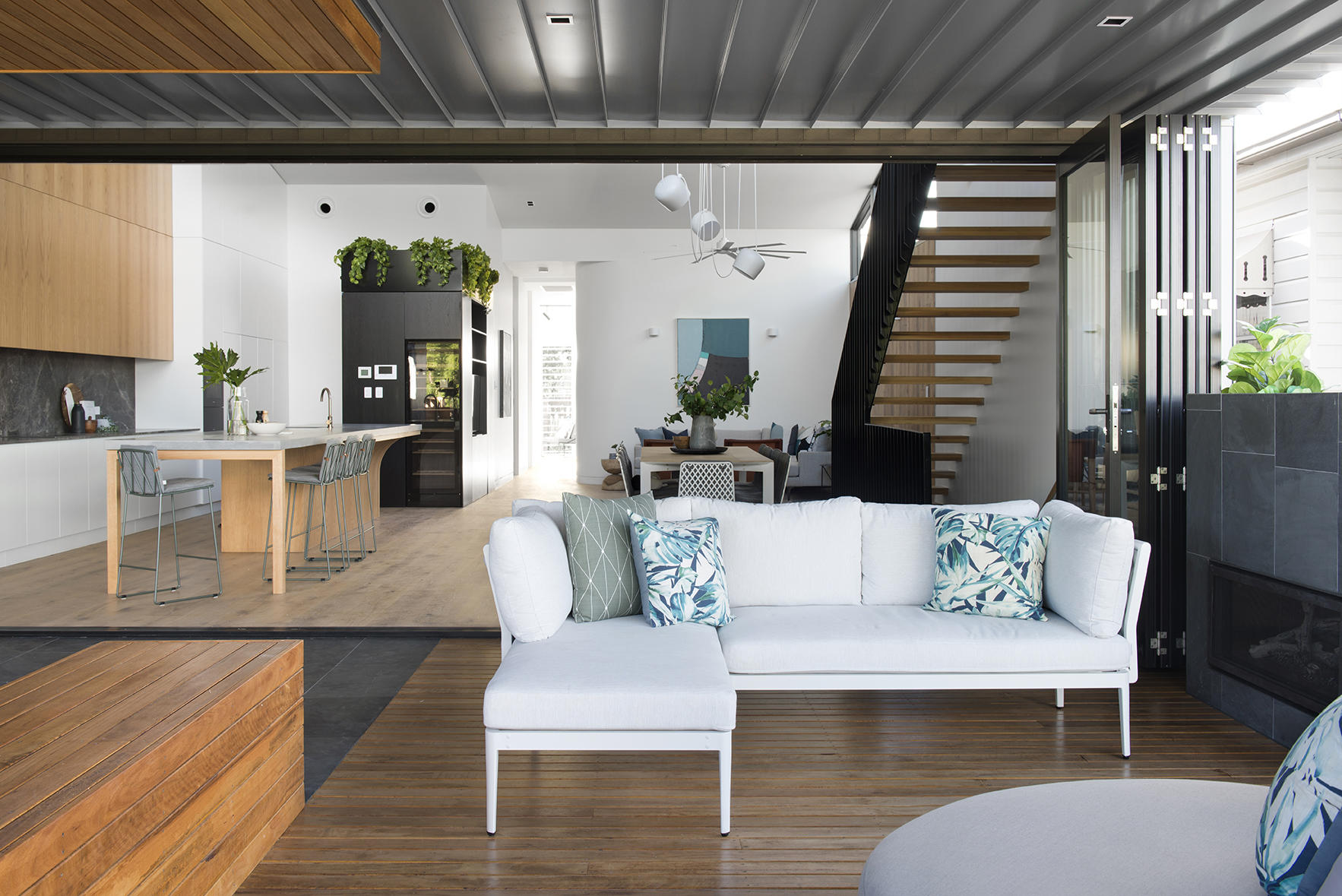A beautifully styled and presented display home or suite physically paints the picture of the life a buyer aspires for.