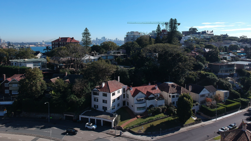 ▲ Fortis and Dare Property Group have spent $41m on a property at Point Piper. Source: Fortis