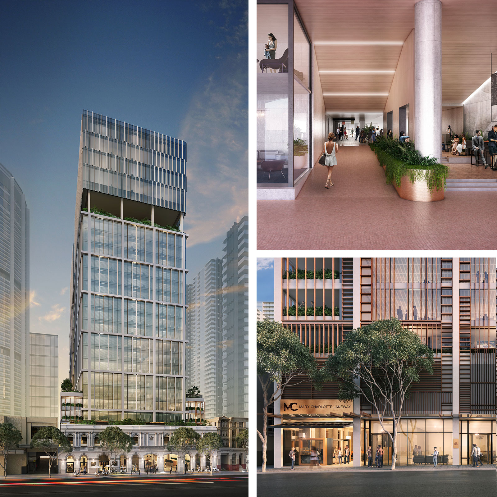 Rio Tinto has signed a 10-year lease agreement for 19,564 square metres of office space.