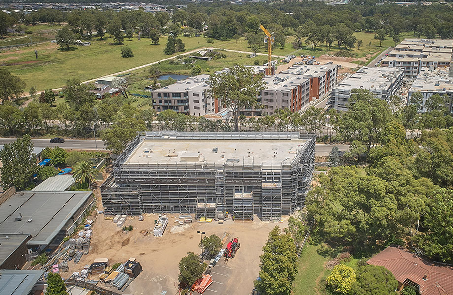 Currently under construction, the Mercure Sydney Rouse Hill is expected to open mid year.