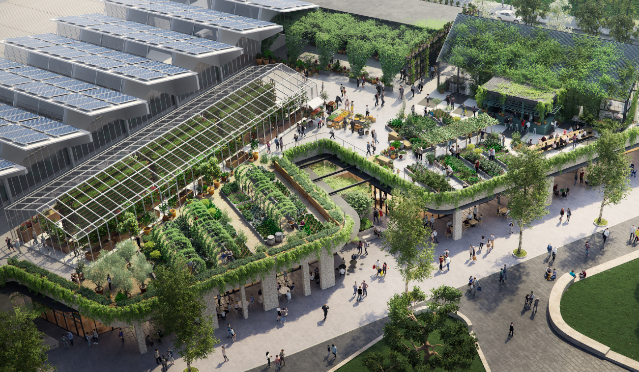Frasers Property has teamed up with Joost Bakker to build the world's most sustainable shopping centre, equipped with a rooftop urban farm.