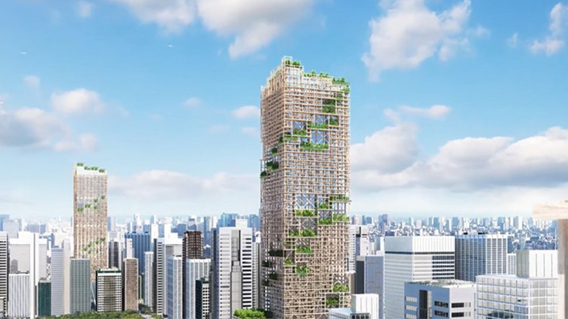 W350 Project, Timber Tower, Tokyo