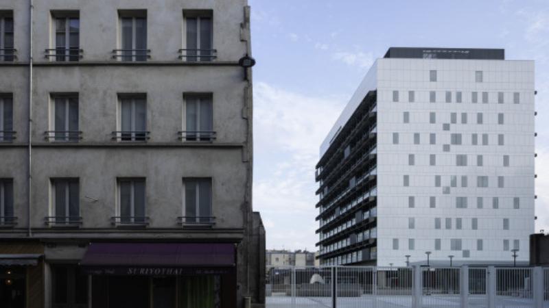 ▲ Necker Laboratory, Paris. Image: Henn Architecture