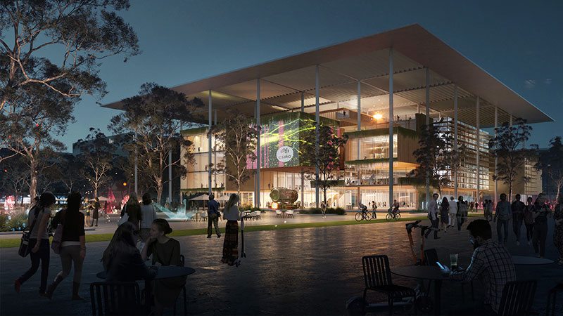 ▲ The CSIRO will have up to 450 of the science agency's staff and researchers based at a new state-of-the-art facility in the heart of the Aerotropolis.