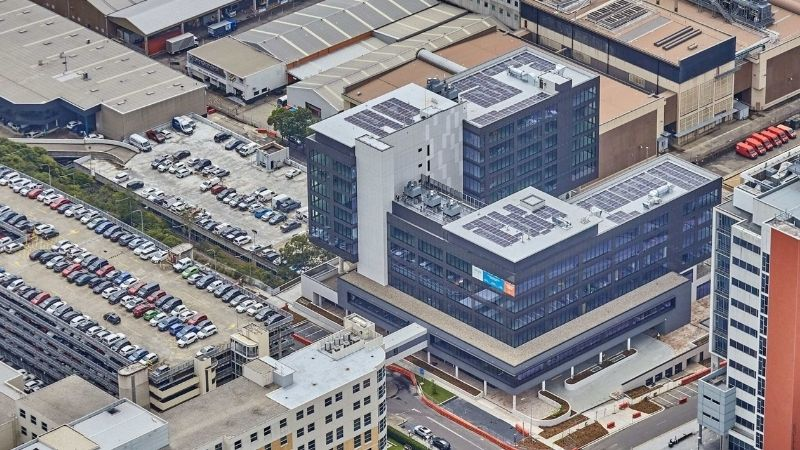 ▲ Dexus' North Shore Health Hub development is among major projects to adopt solar.