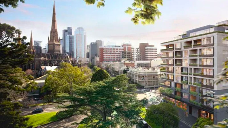 Construction in East Melbourne is due to kick off in June and will take 18 months to complete. Image: Woods Bagot