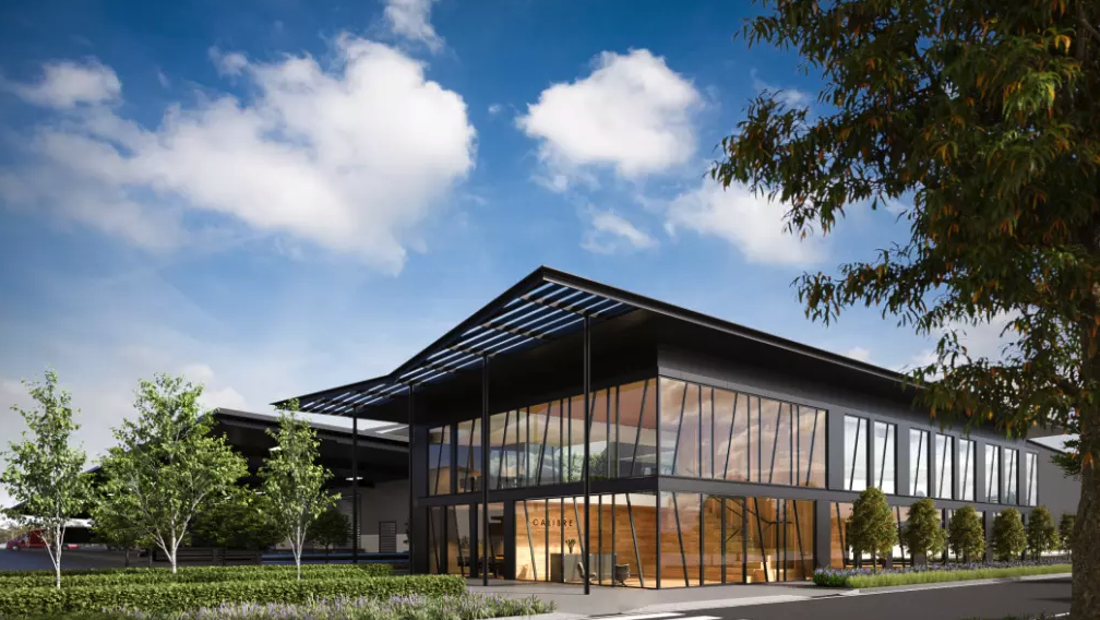 Mirvac raised $125.2 million in the sale of a 50 per cent stake in the Calibre industrial estate in Sydney's west to an associated Morgan Stanley-Mirvac fund.