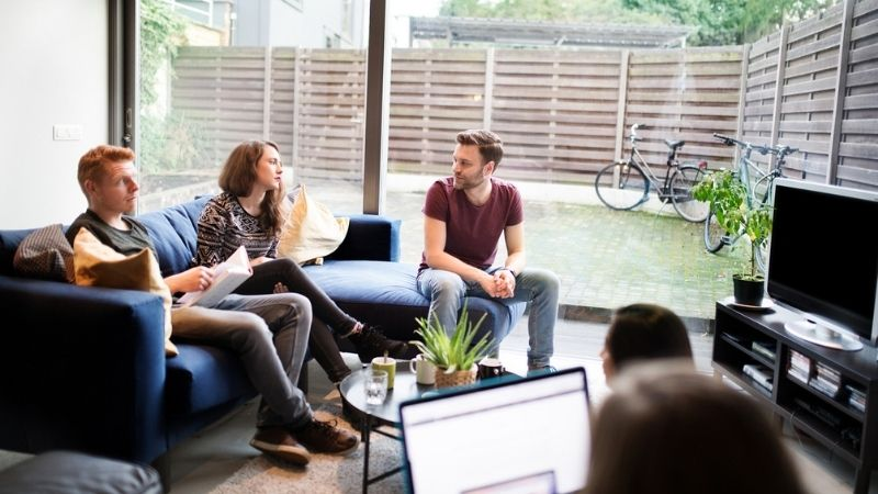 ▲ Co-living can play a part in the post-pandemic accommodation sector, but what form it will take remains to be seen.