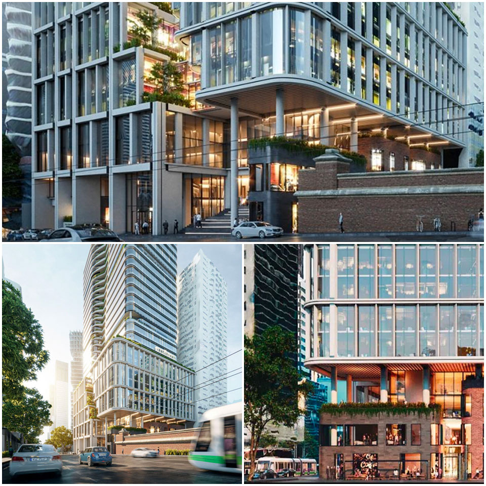 Mirvac Planning Application for 383 La Trobe Street Melbourne