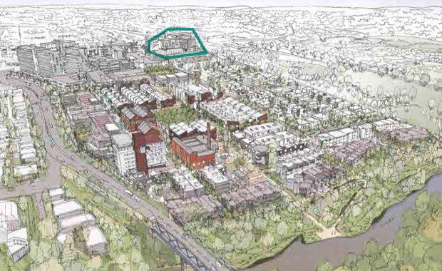 Partners have cultivated a vision for the development of a mixed use village and residential community on a large inner-city infill site.