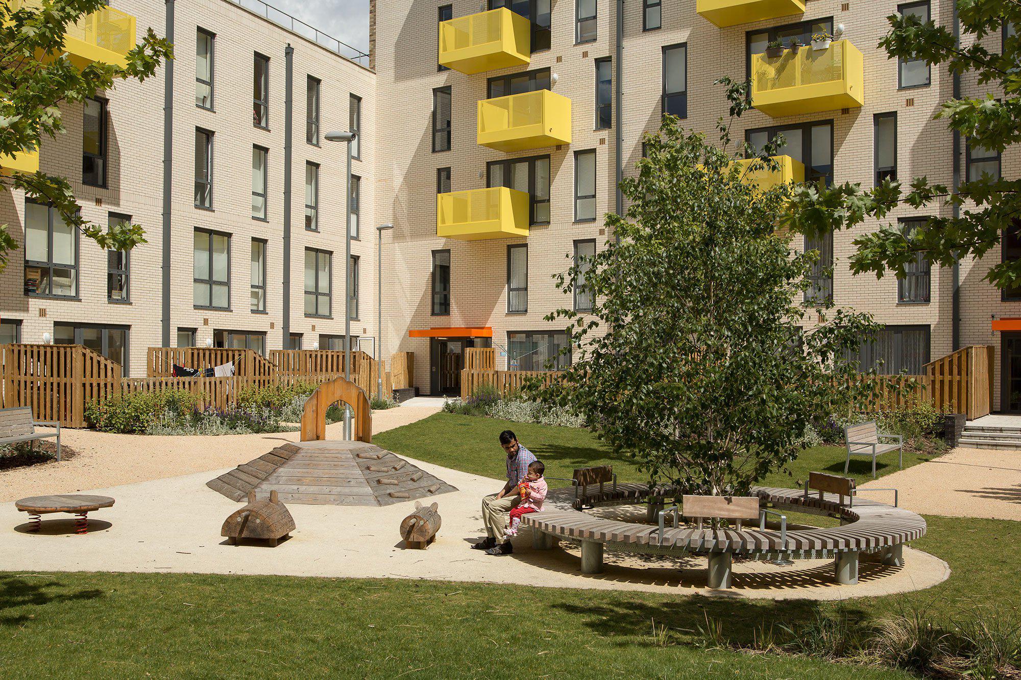 Ocean Estate in Stepney, East London, Levitt Bernstein