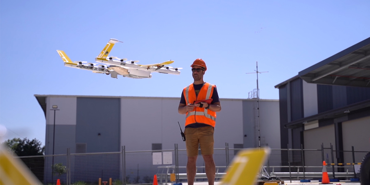 Logan is just one of four locations in the world that now has access to Wing's air delivery service, which flies a range of convenience items by air in just minutes.