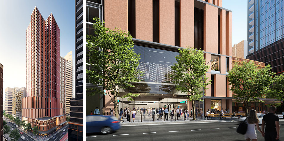Plans for Pitt Street South Tower. Oxford Properties and CPB Contractors, the CIMIC Group's construction arm, are part of the consortium assembled by Grocon awarded the contract for the Pitt Street development.