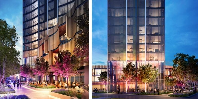 ▲ Perth development: Hassell designed plans for 88 Mill Point Road, South Perth.