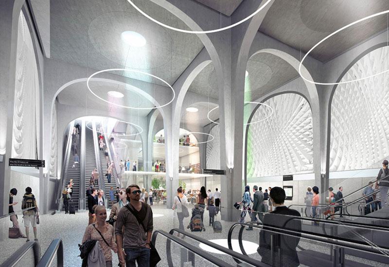 Melbourne Metro designs development