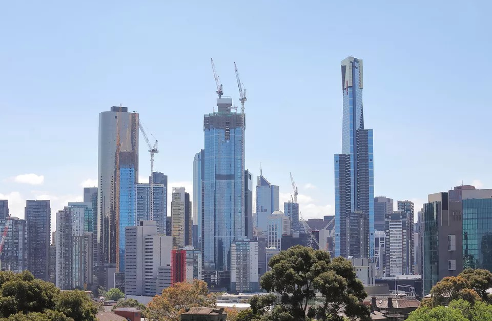 Rider Levett Bucknall's crane index showed a strong jump in Melbourne crane numbers, with a 40 per cent rise since March 2018.