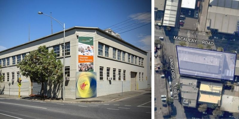 ▲ The 287-313 Macaulay Road North Melbourne site last transacted in July 2014 for $5.28 million.