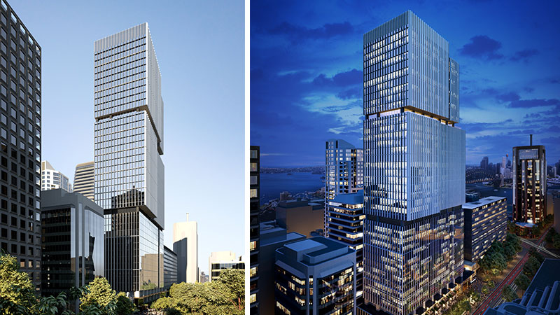 ▲ The tower will be built above Australia's largest rail cavern beneath North Sydney.