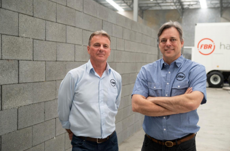 """""""Humans have been laying bricks, in the same way, the past 6000 years. Until now."""" FBR's Mike Pivac and Mark Pivac."""