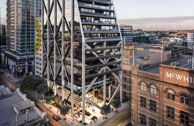 251 Wickham Street Fortitude Valley Brisbane development project