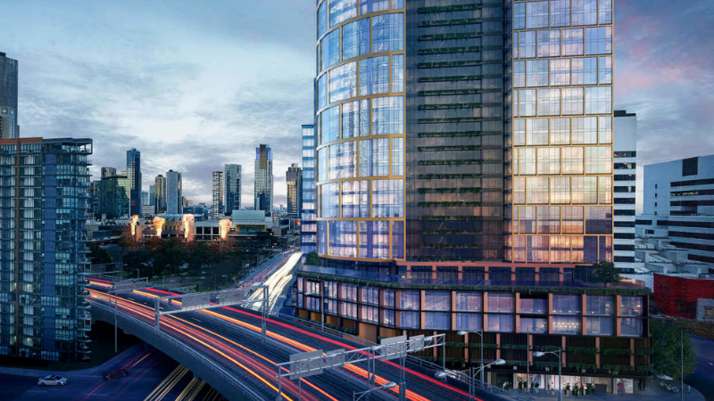 Mirvac's $1 billion two-tower development on Melbourne's Northbank has been given the green light