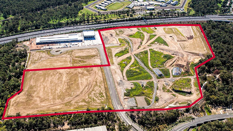 55 Barracks St  Darra, a 23 hectare englobo was snapped up for $59.77 million in June by ISPT/Aliro Group.