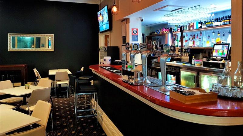 The Grand Hotel pub beer interior Newcastle