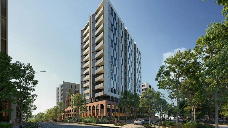 ▲ Renderings of Plus Architecture's designs for stage 1a of the project.
