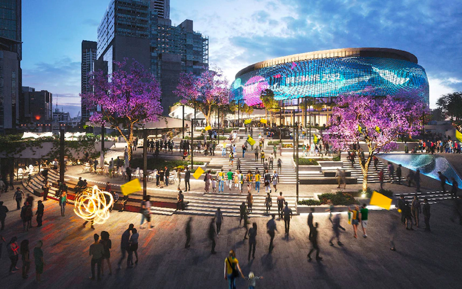 Brisbane Live Aquatic Centre Olympics 2032