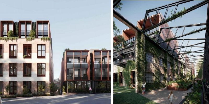 ▲ Leichhardt development. Sydney development.