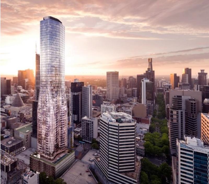 Eq Tower 127-141 A'Beckett Street Melbourne.