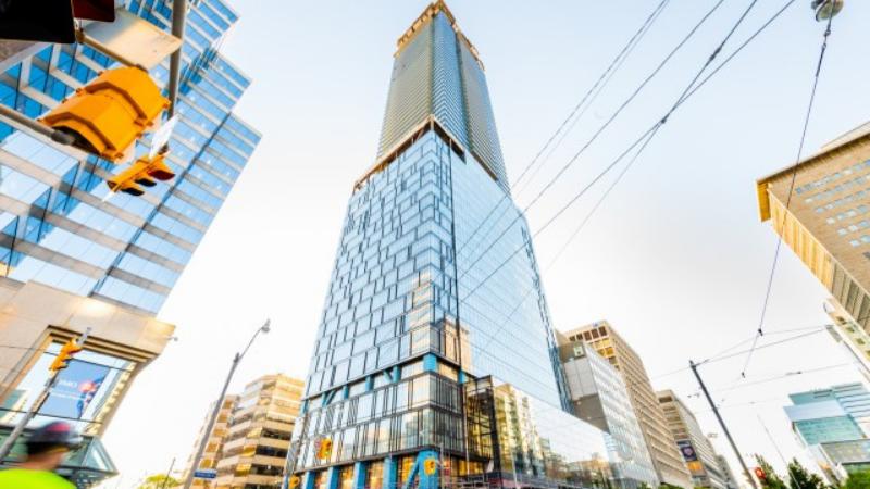 ▲ The Residences, Toronto. Image: Core Architects