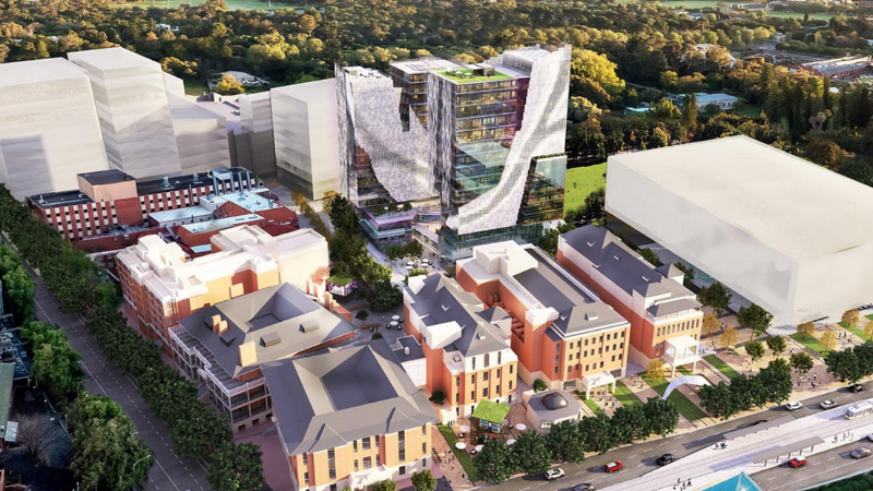 ▲ More than $20 million was earmarked in the South Australian budget for ongoing development of the innovation hub.