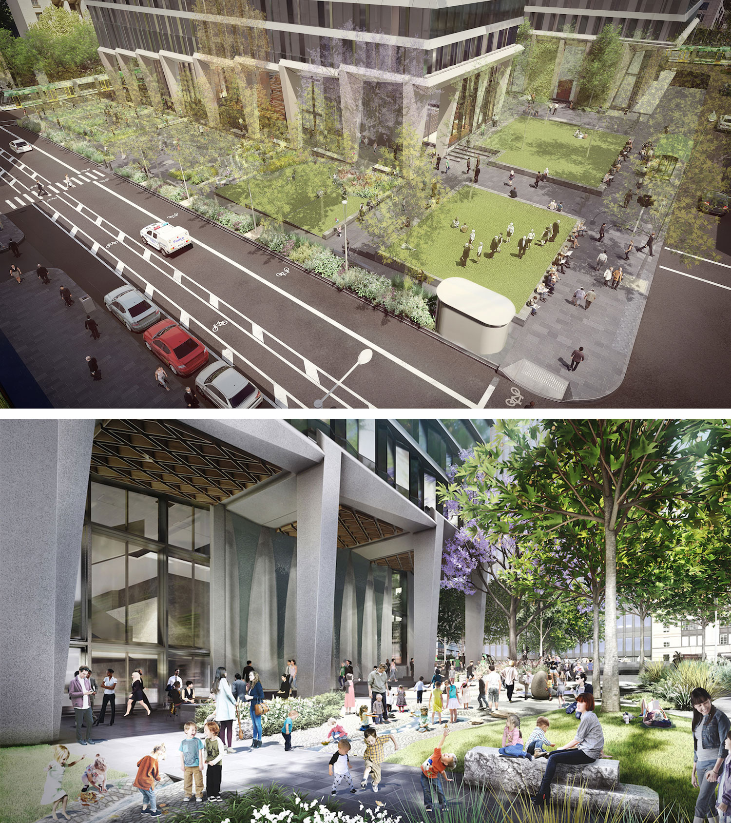 New images released of first public park planned for the CBD since 1980