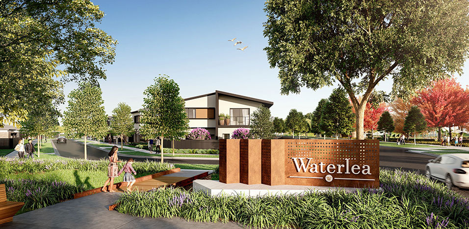 Stockland has committed to a five per cent Social Housing target in the development..