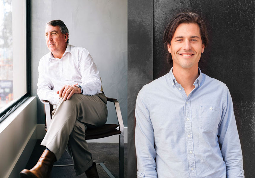 Milieu founders Michael McCormack and Ross Troon