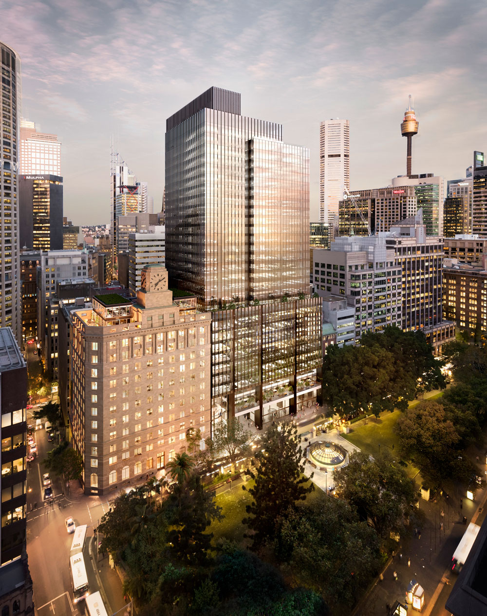 The completion of the 60,000sq m Brookfield Place pushed vacancy rates above 13pc in Sydney's CBD.