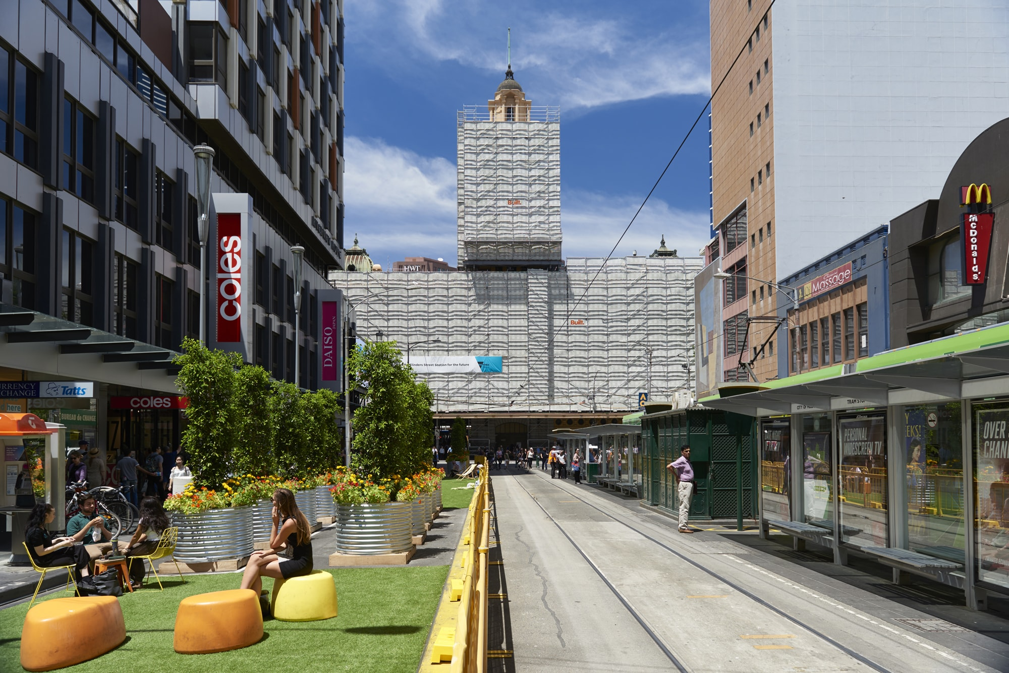 The Elizabeth Street Pop-Up Park is a Minimum Viable Place that offers a taste of what's to come.