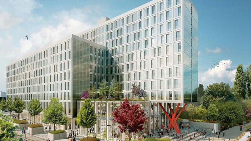 ▲ London co-living start-up The Collective repurposed student accommodation to launch a 550-unit project in West London.