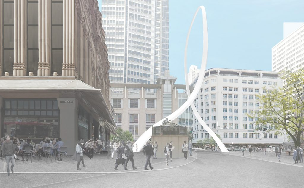 Sydney's Cloud Arch will likely receive the chop due to cost blowouts and delays caused by the light rail.