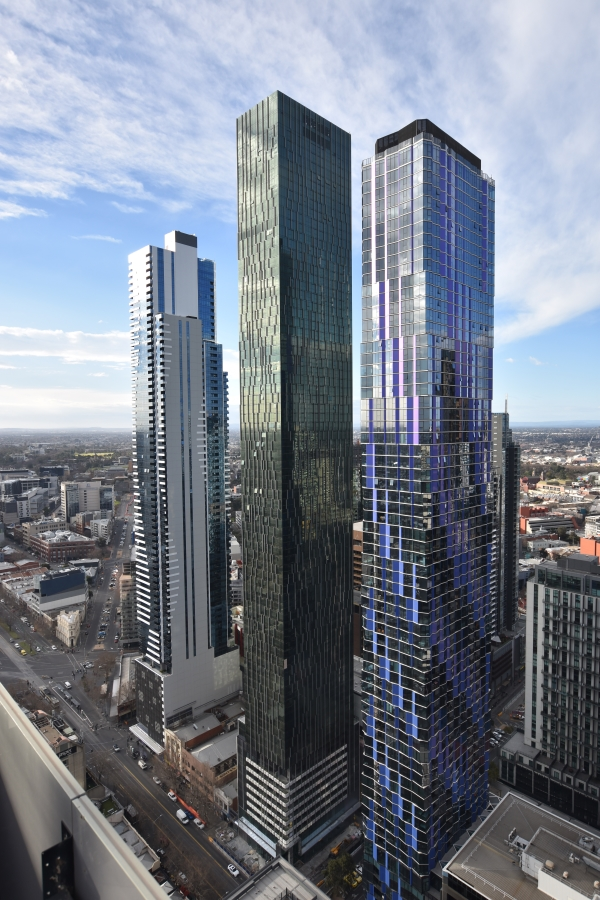 Probuild's Victoria One topped out ahead of schedule earlier this year as the tallest tower in Melbourne's CBD.