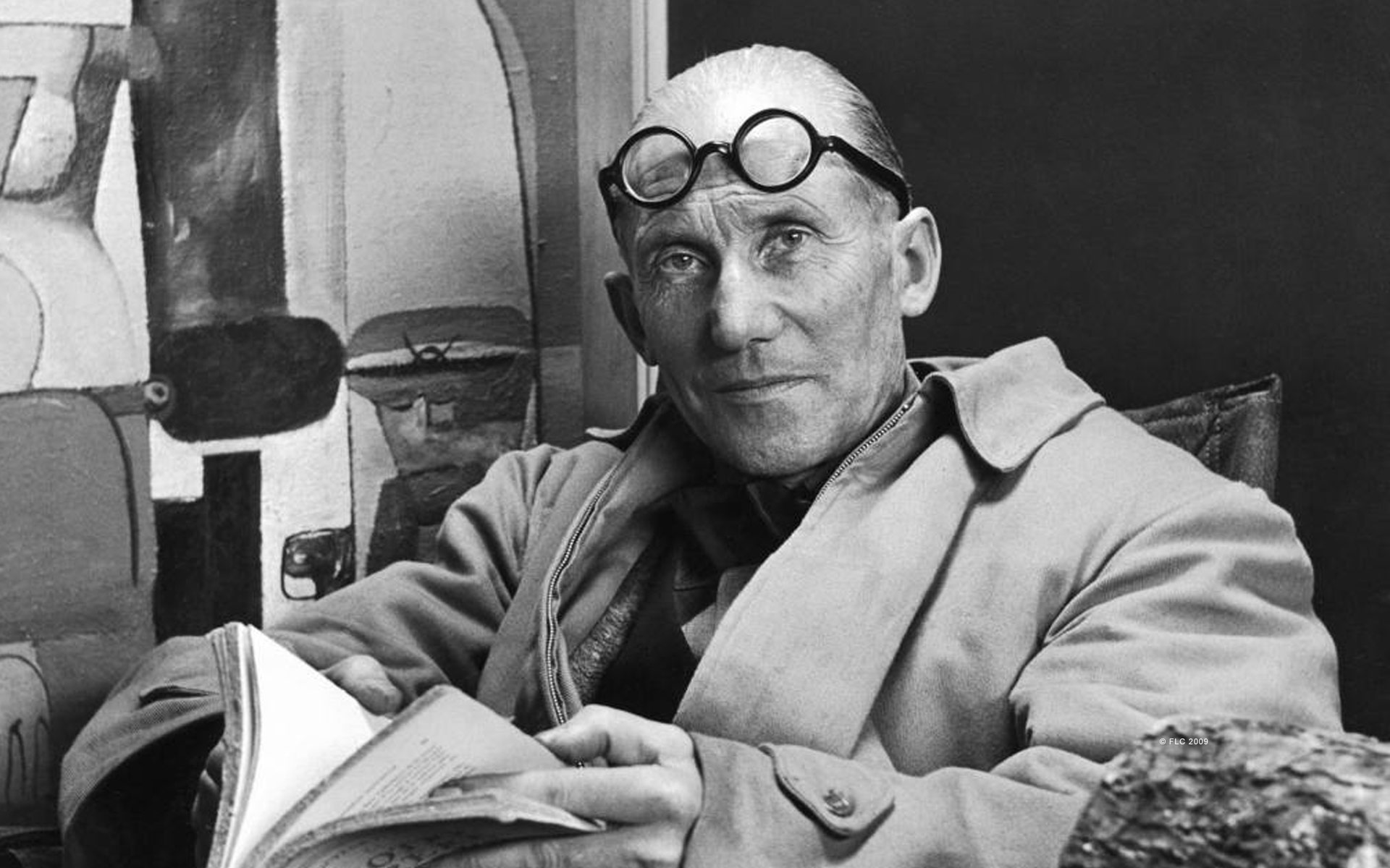 """French-Swiss architect Le Corbusier was one of the founders of modern architecture. In the 1920s, Corbusier predicted that by the year 2000 we'd be living in a """"Radiant City"""" of glass and steel skyscrapers."""