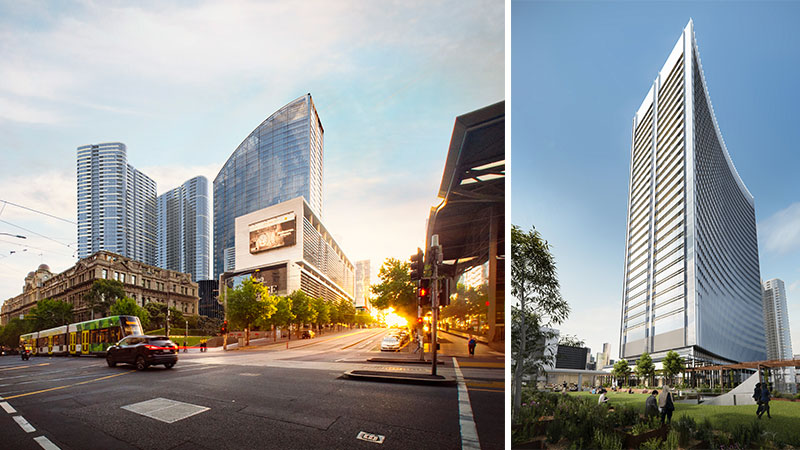Lendlease has been greenlit for its Melbourne Quarter Tower on Collins Street, construction will kick off later this year.