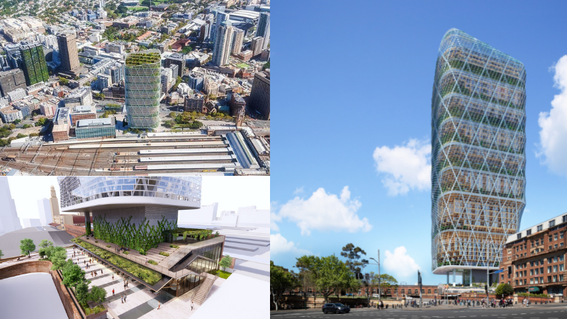 ▲ Dexus will fund the $1.4bn development through debt facilities with potential for third party capital. Images: Dexus