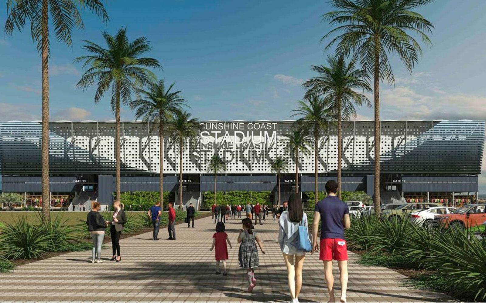 Sunshine Coast Stadium Olympics Brisbane