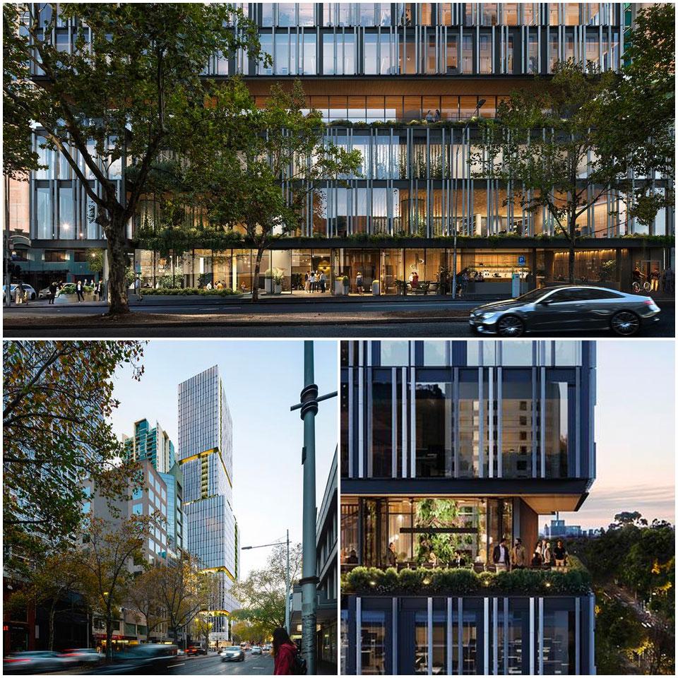 600 Lonsdale Street Melbourne development project v-leader