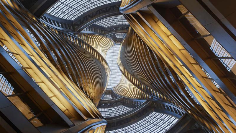 ▲ Leeza Soho Beijing. Image: Zaha Hadid Architects