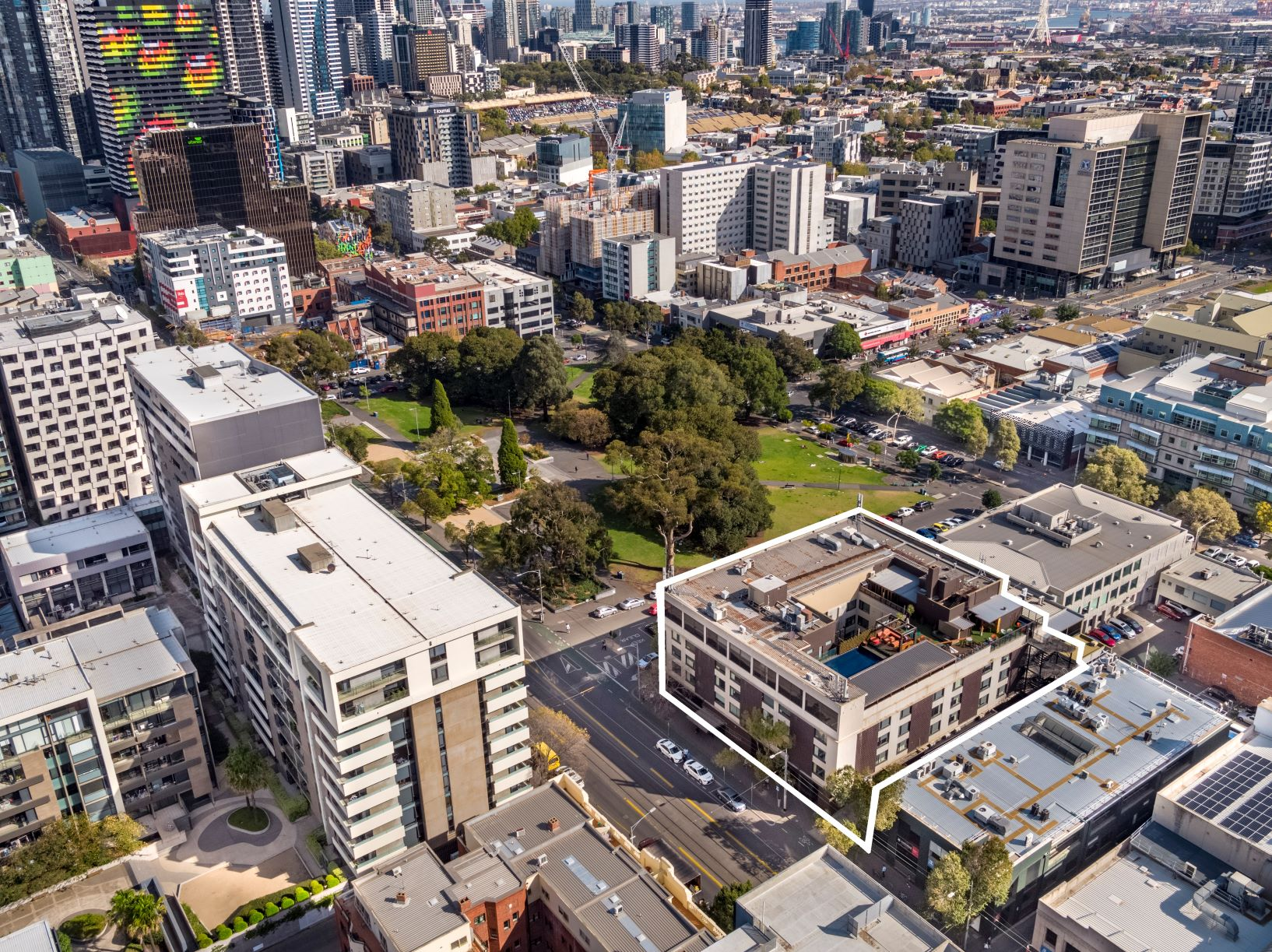 The site of the 107-room Rydges Hotel in Melbourne's inner-city Carlton is on the market for the first time in more than 20 years.
