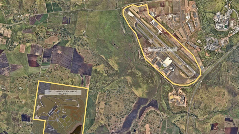 ▲ Wagner is also moving ahead with ambitious plans for a $230 million motorsport and arts centre in the Queensland city.
